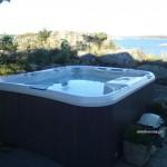 Hot tub Marin przy wybrzeżu