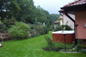 jacuzzi ogrodowe - przykład