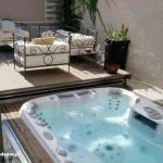 Pokrywa automatyczna TCS Pool Lounge i model Maxxus